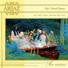 Ariaz-[Grand Opera] 1st Mini Album CD+Booklet+2p PhotoCard+1p Post KPOP