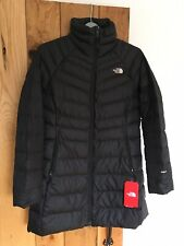Womens North Face Coat Jacket New Ashton Parka Black Size Large L