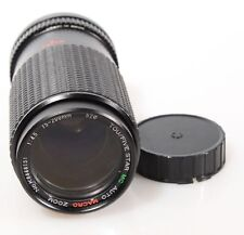 75-200MM ZOOM W/ MACRO FOR CANON FD MOUNT