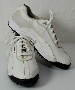 Women's FootJoy GreenJoys 48744P White Golf Shoes - Size 7 1/2 M