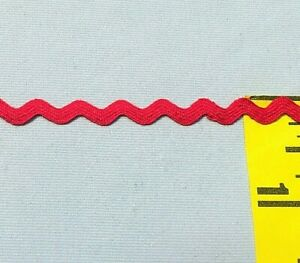 15yard 34color 5mm choose zig zag rick rack ribbon ric rac Sewing trims for DIY