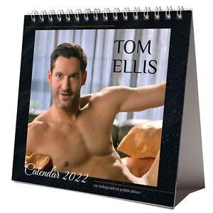 Tom Ellis 2022 Desktop Calendar NEW Desk Lucifer