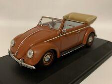 VW VOLKSWAGEN NEW BEETLE II 2 TORNADO ROSSO CABRIO dal 2012 9c 1//43 Schuco modello...