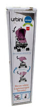 Urbini Reversi Stroller Special Edition Pinkberry Fizz Lightweight And Durable