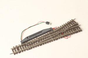 Roco H0 Lean Left Switch Electric Drive Track Braun (200126 67)