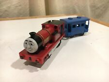 Motorized Rheneas with Blue Car R9236 for Thomas and Friends Trackmaster