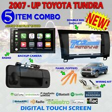 PIONEER DOUBLE DIN BLUETOOTH STEREO BACKUP CAMERA TOYOTA TUNDRA RADIO DASH KIT 4