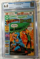 DC COMICS PRESENTS #26 CGC 6.0 FIRST NEW TEEN TITANS!  1ST CYBORG RAVEN STARFIRE