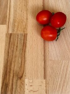 UP TO 10% OFF  Cheapest Solid Real Beech Wood Kitchen Worktop 2M 3M 4M BAR TABLE