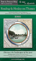 Reading & Henley-on-Thames (PPR-REH): Four Ordnance Survey Maps from Four...