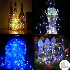 1-10M 3AA Battery Operated Mini LEDs Copper Wire String Fairy Lights Xmas Decor