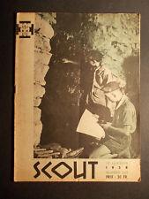 Rare revue SCOUT 335 de 1958 avec des illustrations de Pierre JOUBERT B Powell