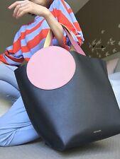 Brand New Roksanda Colour Block Pebble Leather Tote