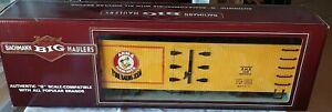 NOS Bachmann 93254 G Scale Arm & Hammer Billboard Freight Train Reefer Boxcar