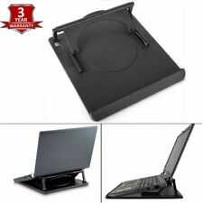 LAPTOP TABLET STAND SUPPORT DESK TRAY COOLING HOLDER  360° ROTATION FOR MACBOOK