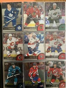 2017-18 Tim Hortons Upper Deck Hockey Cards Complete Base Set 1-100 (GDA+TOP100)