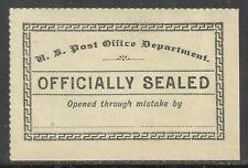 U.S. Post office Seal Scott Lox11 -  issue of 1895?? - mng