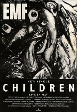 20/4/91 Pgn25 Advert: Emf children The New Single & Live Dates May91 10x7