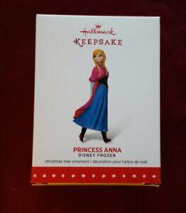 2015 Hallmark Keepsake Disney Frozen Princess Anna Christmas Ornament New in Box