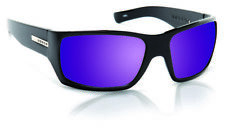 Hoven Times Sunglasses - Black Matte - Purple Haze Polarized - 43-0242