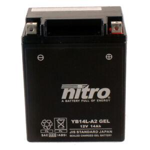 Batterie Yamaha FJ 1200 3CW Bj.1988 Nitro YB14L-A2 GEL geschlossen
