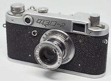 "Vintage Ussr camera ""Fed 2"" M39 mount camera Leica copy Us seller [0081] tested"