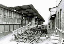 S-Bahn Berlin Bahnhof Lichtenrade Bahnsteig Foto 1979