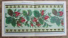 ANCIENNE LITHOGRAPHIE CHROMO DUPUY JOURNAL DES DEMOISELLES 1867 EXPOSITION UNIVE