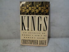 Kings An Account Of Book 1 & 2 Of Homer's Iliad By Christopher Logue 1991 EXCEL