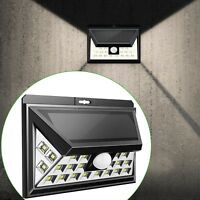 Outdoor LED Solar Powered Light Motion Sensor Security Wall Lights UK Sell Garde