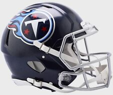 TENNESSEE TITANS NFL Riddell SPEED Full Size AUTHENTIC Football Helmet