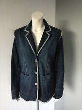 B.YOUNG  Womens Denim Blazer/Jacket Size L App Uk12/14 See Measurements Ex Cond