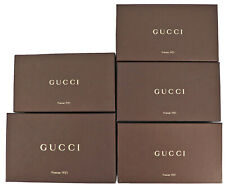 GUCCI Empty Box 5P Set Storage Gift Box Small Brown -88