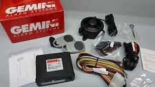 Antifurto auto GEMINI 863, autoalimentato, sensori, cablaggio e 2 radiocomandi.