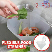 Foldable Filter Simple Sink Self-Stand Stopper Kitchen Anti-Blocking Device Bu