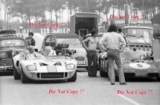 Gulf FORD GT40 & FERRARI 512S Steve McQueen Le Mans Film 1971 foto 1