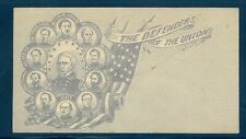 US  Civil War, The Defenders of the Union, Patriotic Cover, Mint