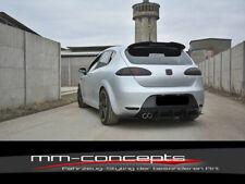 CUP Diffusor Ansatz für Seat Leon MK2 Cupra FR Heckansatz Stoßstange ABS V1