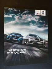 The BMW X5m and X6m Sales Brochure