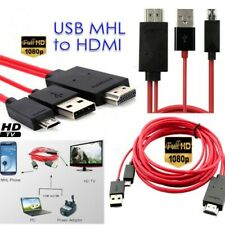 Cable conector HDMI USB Micro USB 3.0 Movil Phone Medialink HDTV con Cable