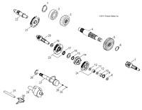 NEW OEM GENUINE POLARIS ATV RECOIL STARTER RATCHET 3083819 NOS