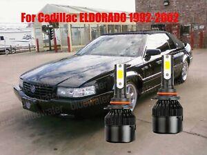 LED For Cadillac ELDORADO 1992-2002 Headlight Kit 9006 HB4 CREE Bulbs Low Beam