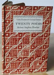 Twenty Poems by Robert Stephen Hawker, 1st edn 1925, Cornish Poets - Cornwall
