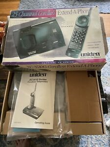 Uniden XC3510G HQ Series Extend-A-Phone 25 Channel Cordless Telephone NEW IN BOX