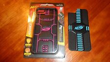 Genuine Nerf Iphone 5/5S Advance Customizable Color Black Blue/Pink Case Sealed