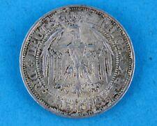 """3 Mark """" 1929 E """" Weimarer Republik 1000 Jahre Meißen Jäger J. 338"""