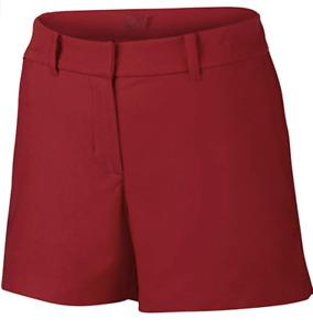 Nike Women's Tournament Short 725771-657 University Red Size 4