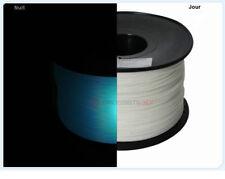 Filament 3D Phosphorescent Bleu PLA 1.75 mm Bobine de 1 Kg Livraison Rapide