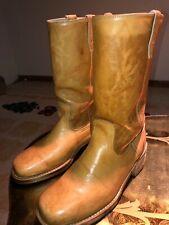 Vintage dingo 7207 campus/western/cowboy boots 10 EW