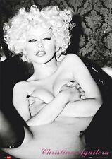 Christina Aguilera Poster - Hot Sexy Bath - New 24X36